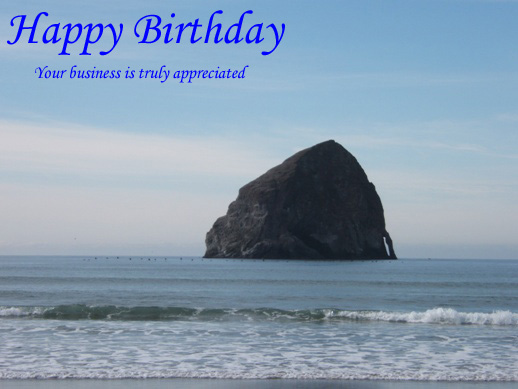 Birthday Card - Email